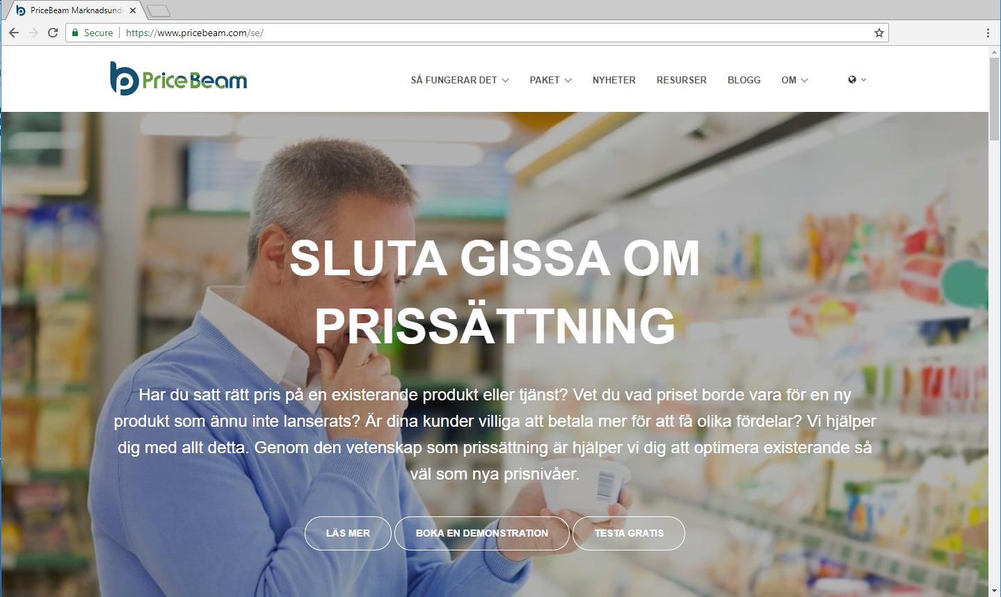 PriceBeam.se